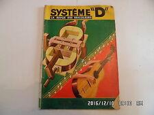 SYSTEME D N°143 11/1957 CONSTRUIRE UNE GUITARE VOITURETTE A PEDALES JEEP  D85