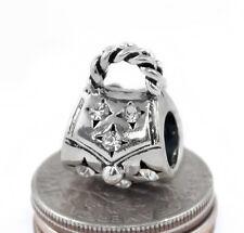 European Handbag Charm Bead Silver Large Hole 5mm f/ European Charm Bracelet