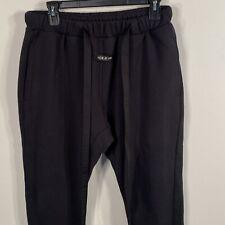 Fear Of God Core Sweatpants Sixth Collection God Black Sz M FOG Drawstring