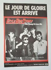 Publicité advert album concert LITTLE BOB STORY 1984 tournée française
