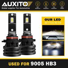 AUXITO 9005 HB3 LED Headlight High Low Beam 6000K High Power Headlamp 20000LM