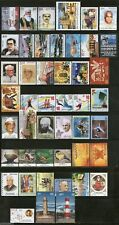 India 2012 Year Pack of 46 Stamps Olympic Lighthouse Painting Aviation Israel MN