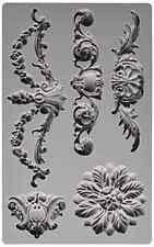 Prima Marketing 814793 Baroque No.3 Iron Orchid Designs Vintage Art Decor Mold,