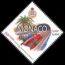 Monaco 1999 Grand Prix/F1/Bugatti/Ferrari/Cars/Sport/Racing/Palm Tree 1v n38305