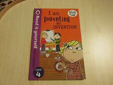 LADYBIRD BOOK READ IT YOURSELF  LEVEL 4 CHARLIE AND LOLA I AM INVENTING AN INVEN