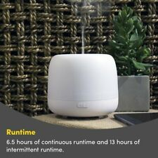 Lucy Ultrasonic Aroma Diffuser - 7 Colour LED Light + 2 Mode Essential Oil Mist