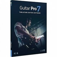New Arobas Guitar Pro 7 Guitar Tab Editing & Composition Mac/PC eDelivery