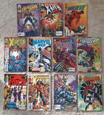 X Force Marvel Comic Book Lot of 8 X-Men Deluxe