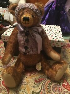 D'BEAR DISNEY CONVENTION  Mohair ~DEBRA BEDWELL Koontz R Schulte no 8 Bear LTD