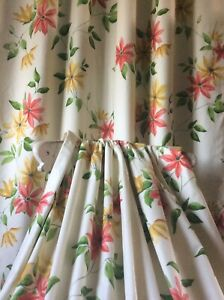 Gorgeous Arthur Sandersons Wisely Curtains Blackout lined 2 Pairs available