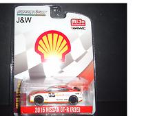 Greenlight Nissan GT-R R35 2015 Shell Racing Tarmac x MIJO Exclusive  1/64 51085