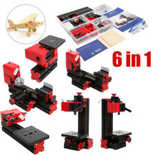 6 In 1 Multi Mini Metal Working Lathe Machine Diy Drilling Milling Machine De
