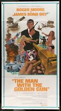James Bond Original Man With The Golden Gun three-sheet Movie Poster