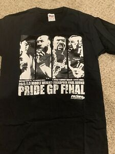 Pride Fc Middle Weight Grand Prix Even T-shirt Size Small