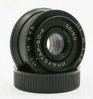 Industar 50-2 KMZ 3.5/50 mm M42 USSR lens for SLR Zenit