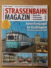 Straßenbahn RIVISTA, 8/2014