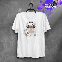 Grumpy Cat Cartoon Unisex Fit Man Woman Music T-Shirt Funny Kitten Printed Tee