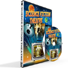 Science Fiction Theatre Tv Series All 78 Episodes Dvd Set [Disc Case Included]
