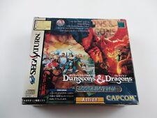 Dungeons & Dragons Collection with RAM Sega Saturn Japan Ver Segasaturn