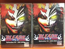 DVD BLEACH Complete Box set Eps 1-366END.16DVDs ENG Dub Region Free Express Mail