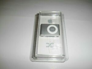Apple iPod shuffle 2nd Generation Clip On A1204 SILVER 1 GB) New + I Ship Faster
