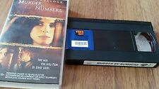 MURDER BY NUMBERS - SANDRA BULLOCK - VHS VIDEO