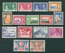 1937/49 Hong Kong GB KGVI Coronation, Centenary, Peace & U.P.U.  set stamps M/M