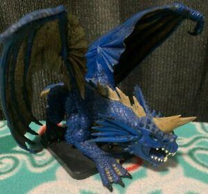 D&D Icons: Gargantuan Blue Dragon (Dungeons and Dragons Miniatures) w/ stat card