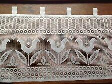 brise bise cantonnière rideaux à décor vendu au mètre B20