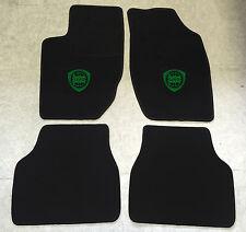 Autoteppich Fußmatten für Lancia Thema schwarz grün 1984-1994 4teilig Neuware