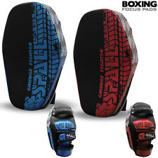 Boxing Gloves and Focus Pads Set Hook Muay Thai MMA Kick Strike Curved Arm Punch