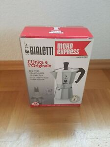 Bialetti , *** NEU ***; Moka Express 6 - Espressokanne,