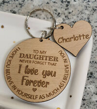 PERSONALISED GIFT FOR HER DAUGHTER SON GRANDDAUGHTER GRANDSON GIFTS KEYRING