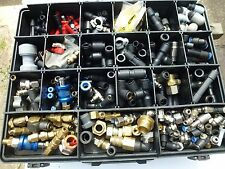 Legris pneumatic air fittings coupling hydraulic selection job lot collection