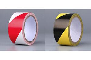 Bodenmarkierungsband PVC Klebeband Warnband Markierungsband Abstan 45mm x 18m