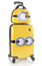 "Heys America Luggage Despicable Me Minions Wheeled 21"" 2 Piece Suitcase Set"