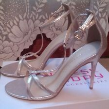 Chinese Laundry Gold Womens Shoes Size 10 Heels z-live show sparkle wedding NEW