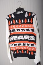 Chicago Bears SWEATER UGLY CHRISTMAS WARM Illinois NFL Football XXL
