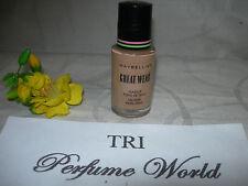 Maybelline Great Wear Makeup Oil Free 1.14 fl.oz. Rich Tan
