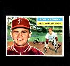 5960* 1956 Topps # 7 Ron Negray GB Ex-Mt