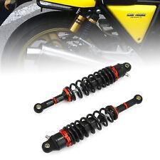 """2pcs 13.5"""" 340mm Rear Shock Absorber Air Suspension for Honda Suzuki ATV Black"""