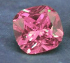 14.0ct Unheated Pink SAPPHIRE 12MM CUSHION SHAPE AAA COLOR LOOSE GEMSTONE