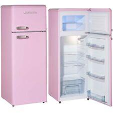 SCHNEIDER Kühlschrank Kühl Gefrierkombination pink HxB