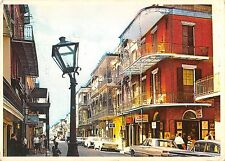 BR49684 New orleans lace work balconies en st peter street      Louisiana