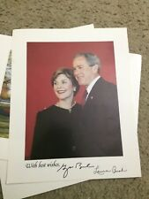 George and Laura Bush Photo from White House