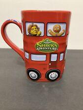 Shrek's Adventure London Dreamworks 2015 Double Decker Bus Shaped Mug