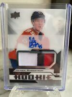 2018-19 Upper Deck Premier Hockey 3 Color RPA - Henrik Borgstrom #'d /249