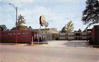 Sylacauga Alabama~Fort Williams Motel~OPEN~No Cars~1957 Postcard