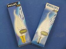 PHILIPS Ampoule Bougie de rafale transparent 25W E14 230V Brilliant Decor Code:
