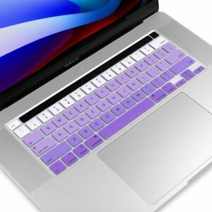 """Pro Keyboard Cover For MacBook Pro Touch Bar 13"""" & 15"""" 16"""" 2016-2018/2019/2020"""